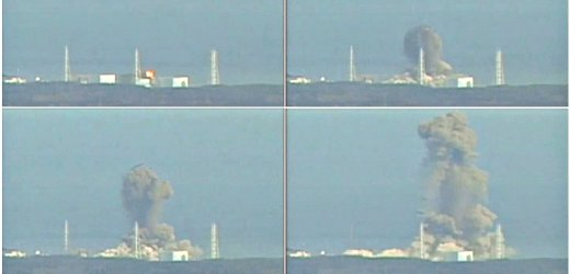 explosion at Fukushima