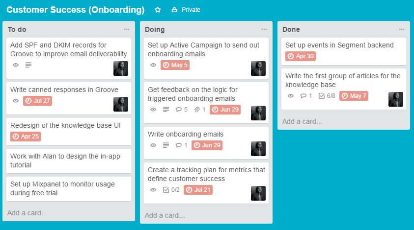 SaaS onboarding for fun and profit